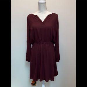White House Black Market layered skirt dress BNWT